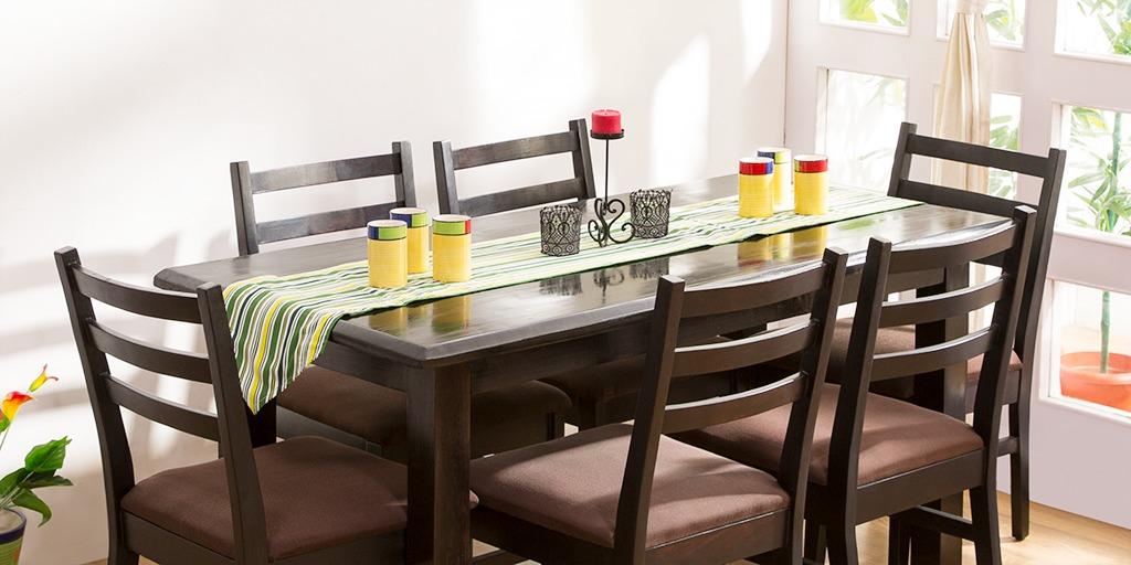 Gordon 6 Seater Dining Set On Rent In Pune Rentomojocom