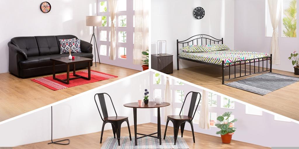 Rent 1 BHK Furniture Package in Bangalore - RentoMojo