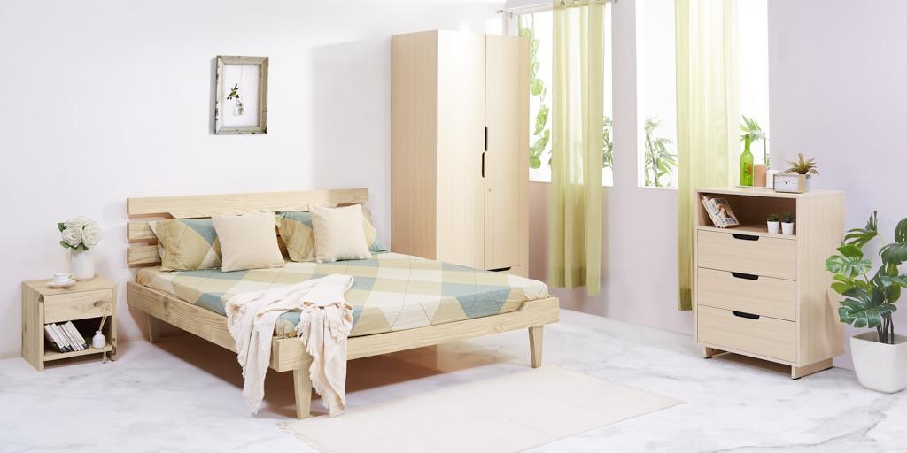 Bedroom Furniture Packages on Rent in Delhi Online - RentoMojo